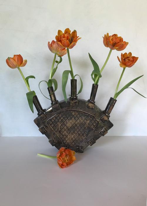 Tulpenvazen - Grove chamotte